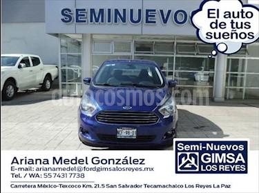 Ford Figo Sedan Titanium Aut usado (2018) color Azul Marino precio $180,000