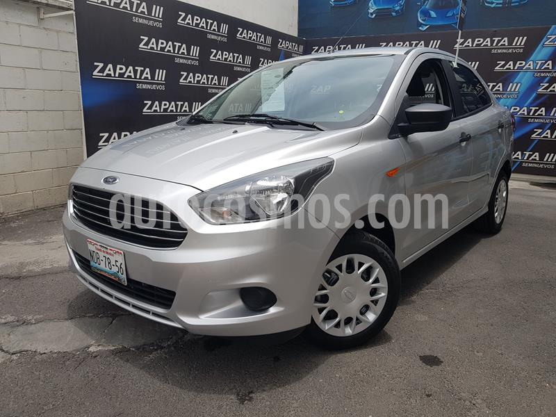 Ford Figo Sedan Impulse  usado (2018) color Plata Estelar precio $162,000