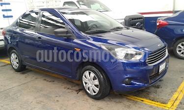 Ford Figo Sedan Impulse A/A usado (2018) color Azul precio $159,900