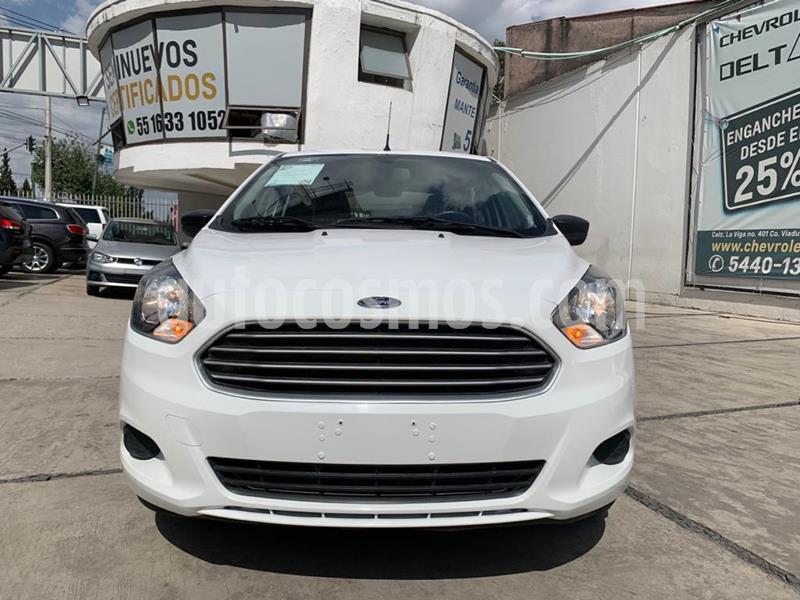 Ford Figo Sedan Impulse  usado (2018) color Blanco precio $133,900