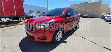 Ford Figo Sedan Impulse  usado (2017) color Rojo precio $130,000
