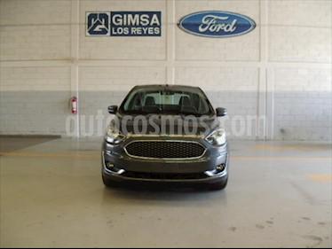 Ford Figo Sedan Titanium Aut usado (2020) color Gris precio $292,000