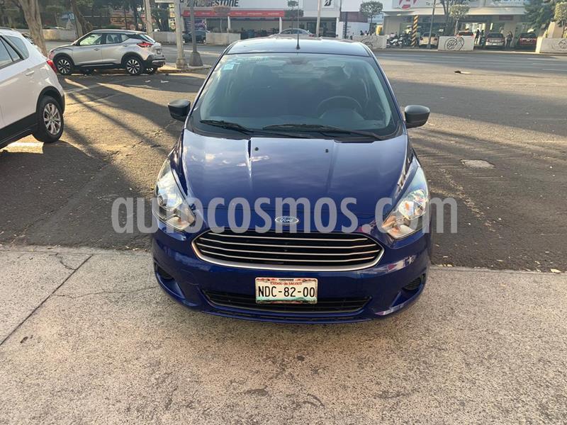 Ford Figo Sedan Energy usado (2018) color Azul precio $154,000