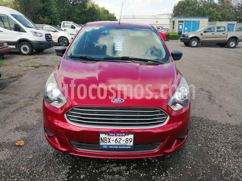 Ford Figo Sedan Impulse  usado (2017) color Rojo precio $127,000