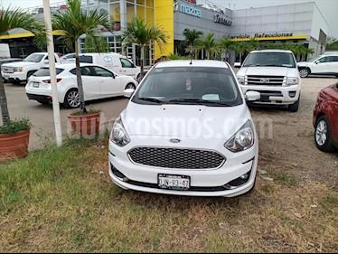 Ford Figo Sedan Titanium Aut usado (2019) color Blanco precio $210,000