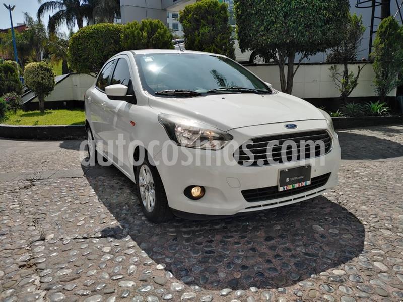 Ford Figo Sedan Titanium Aut usado (2017) color Blanco precio $155,000