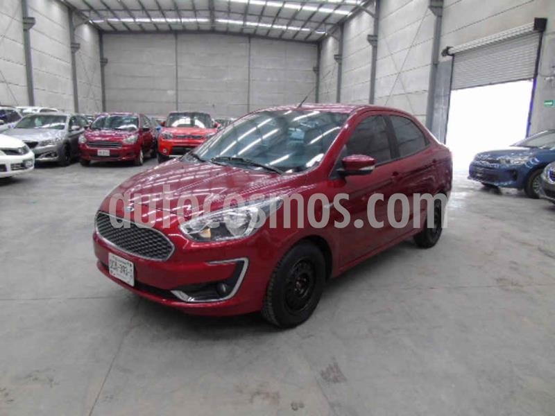 Ford Figo Sedan Titanium Aut usado (2019) color Vino Tinto precio $126,000