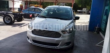 Ford Figo Sedan Impulse A/A usado (2017) color Plata precio $140,000