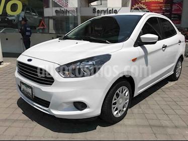 Ford Figo Sedan Impulse Aut A/A usado (2017) color Blanco precio $175,000