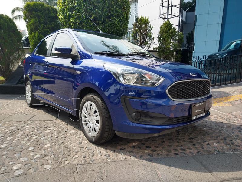 Ford Figo Sedan Impulse Aut A/A usado (2019) color Azul precio $180,000