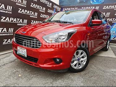 Ford Figo Sedan Titanium usado (2017) color Rojo Rubi precio $175,000