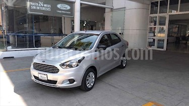 Ford Figo Sedan IMPULSE L4/1.5 MAN A/A usado (2016) color Plata precio $145,000