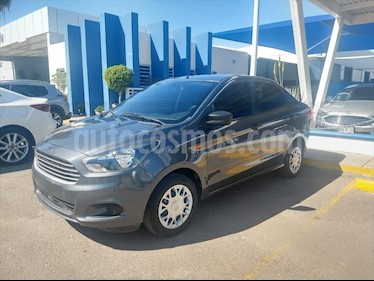 Ford Figo Sedan Impulse A/A usado (2018) color Gris precio $155,000