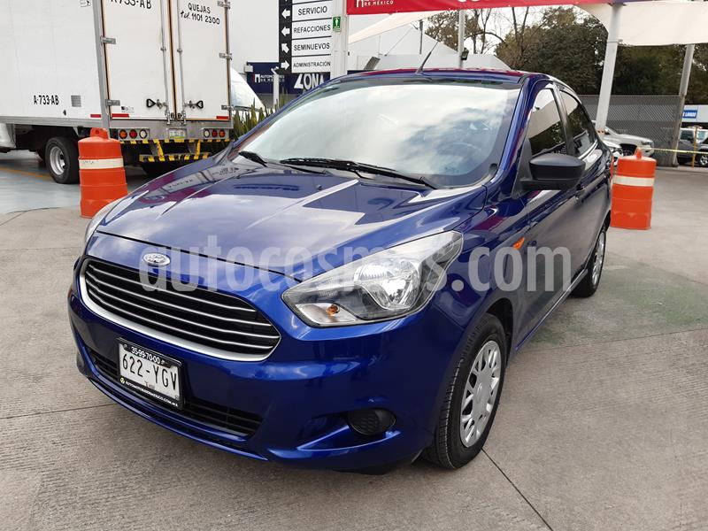 Ford Figo Sedan Impulse A/A usado (2017) color Azul precio $135,000