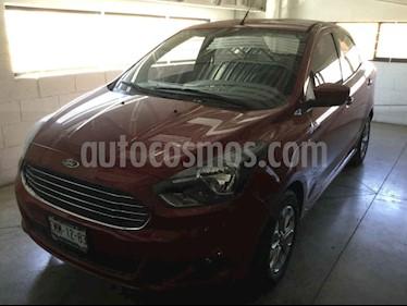 Ford Figo Sedan Titanium Aut usado (2017) color Rojo precio $153,000