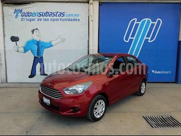 Ford Figo Sedan Impulse  usado (2017) color Rojo precio $56,000