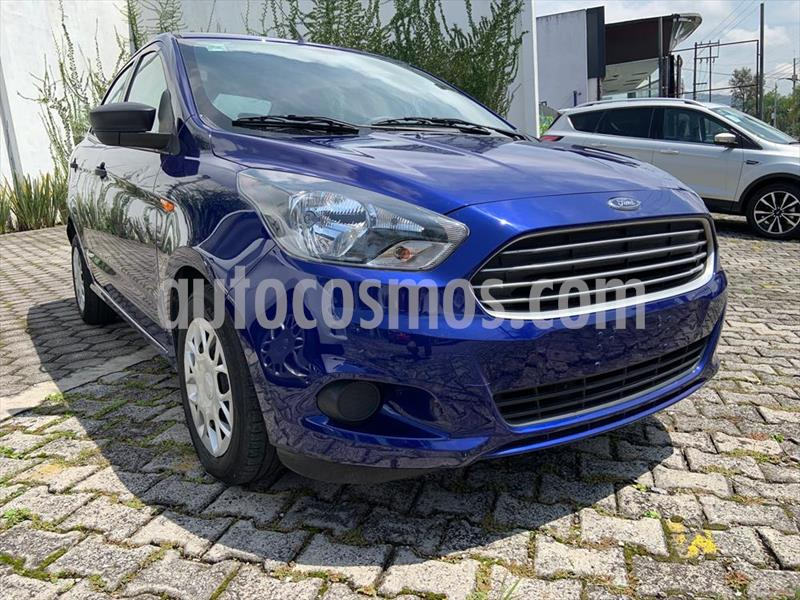 Ford Figo Sedan Impulse Aut A/A usado (2018) color Azul Electrico precio $179,999