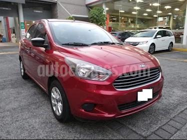 Ford Figo Sedan Energy usado (2017) color Rojo precio $157,000