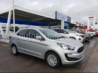 Ford Figo Sedan Impulse A/A usado (2019) color Plata precio $170,000