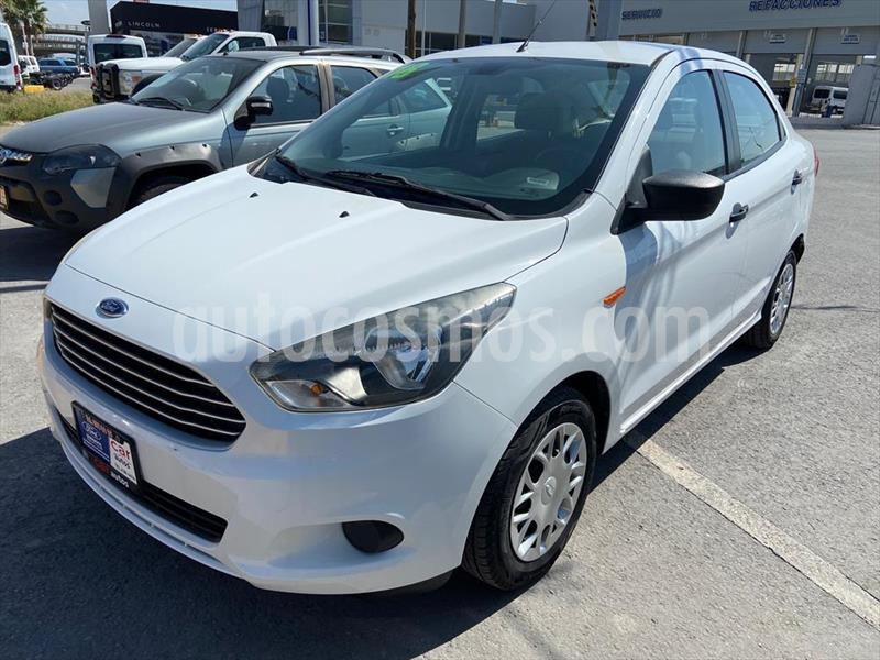 Ford Figo Sedan Impulse Aut A/A usado (2018) color Blanco precio $159,000