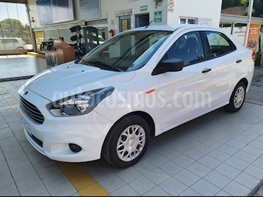 Ford Figo Sedan Impulse A/A usado (2017) color Blanco precio $129,900