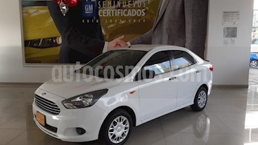 Ford Figo Sedan Energy usado (2017) color Blanco precio $158,900