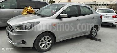 Ford Figo Sedan Titanium Aut usado (2017) color Plata Estelar precio $183,000