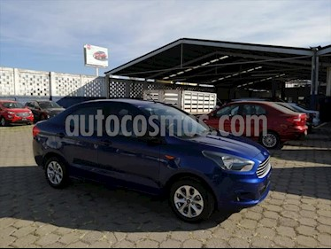 Ford Figo Sedan Energy Aut usado (2017) color Azul Electrico precio $170,000
