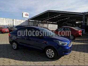 foto Ford Figo Sedán Energy Aut usado (2017) color Azul Eléctrico precio $170,000