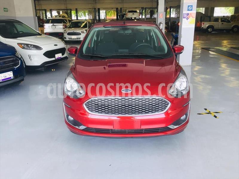 Ford Figo Sedan Titanium Aut usado (2019) color Rojo precio $269,900