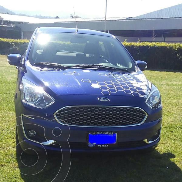 Foto Ford Figo Sedan Titanium Aut usado (2020) color Azul precio $278,000