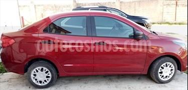Ford Figo Sedan Impulse A/A usado (2018) color Rojo precio $155,000
