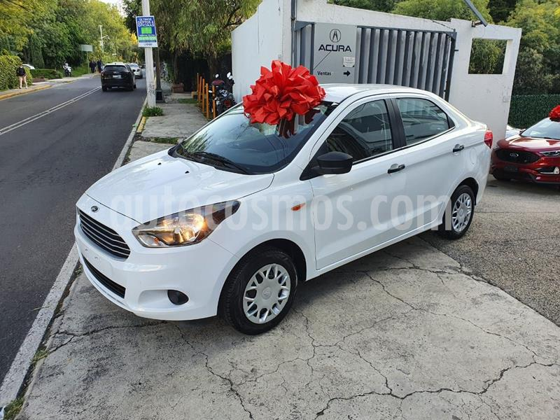 Ford Figo Sedan Impulse A/A usado (2018) color Blanco precio $155,000