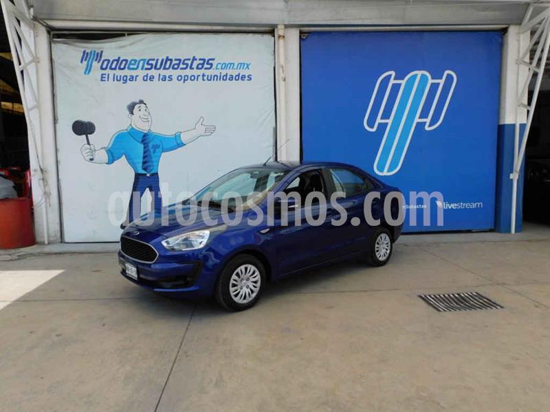 Ford Figo Sedan Impulse A/A usado (2019) color Azul precio $116,000