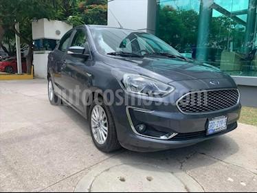 Ford Figo Sedan Titanium Aut usado (2019) color Gris Oscuro precio $225,000