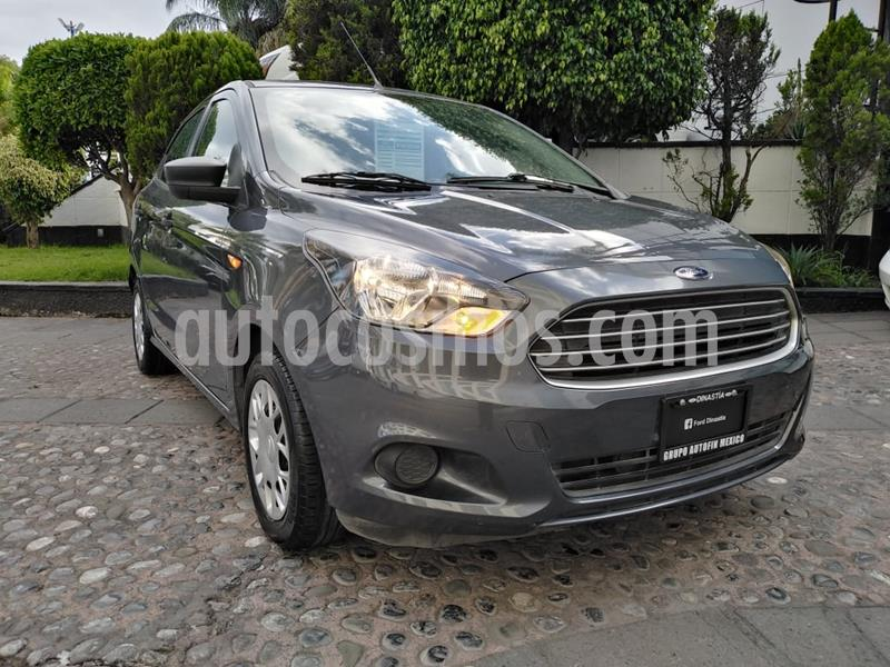 Ford Figo Sedan Impulse  usado (2018) color Gris precio $160,000