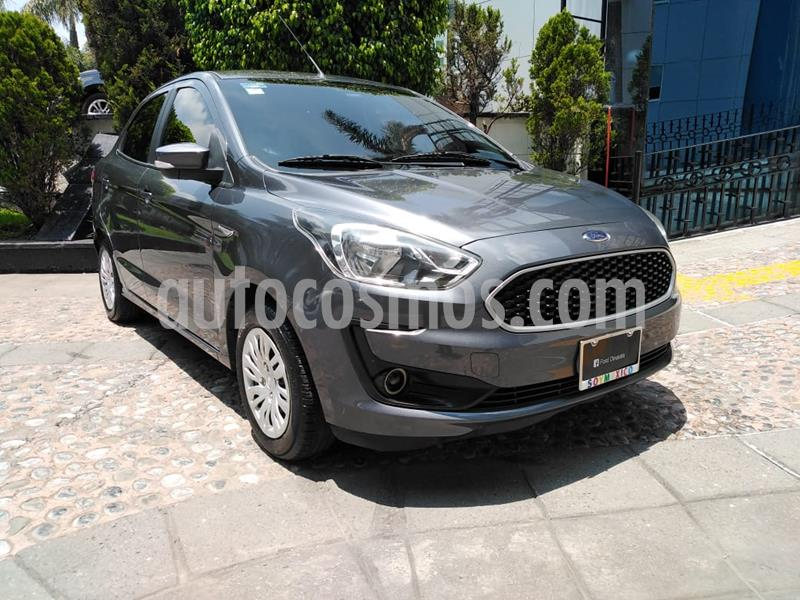 Ford Figo Sedan Impulse Aut A/A usado (2019) color Gris precio $189,000