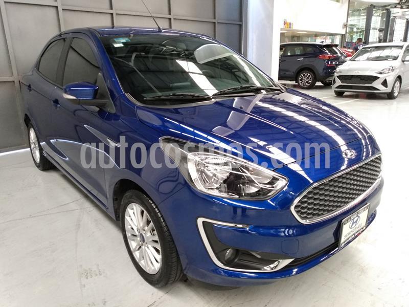 Ford Figo Sedan Titanium usado (2020) color Azul precio $239,900