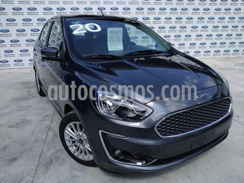Ford Figo Sedan Titanium Aut usado (2019) color Gris Oscuro precio $271,000