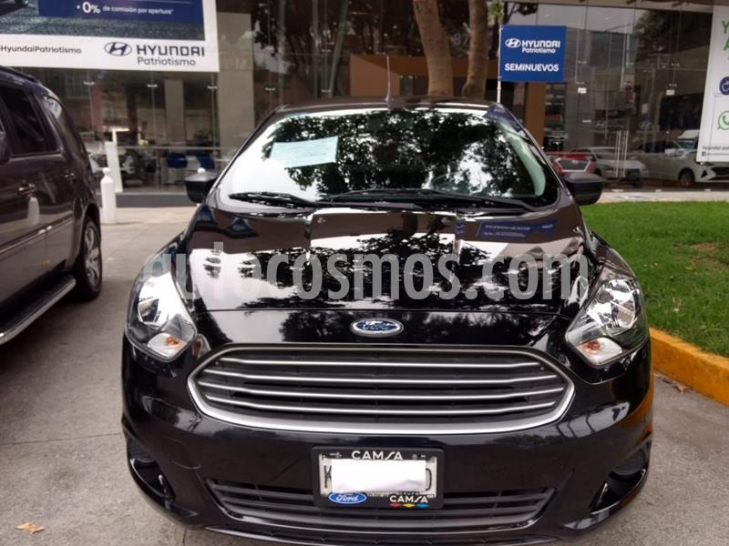 Ford Figo Sedan Impulse  usado (2018) color Negro precio $153,000
