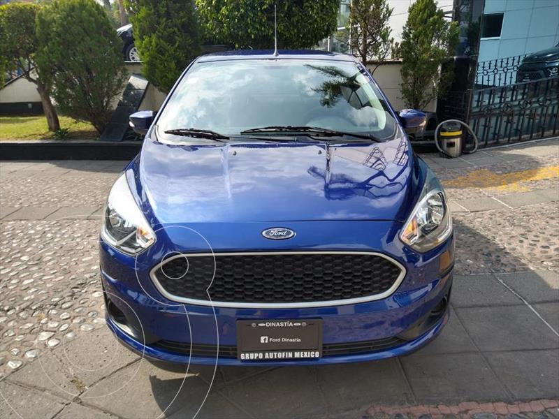 Ford Figo Sedan Impulse Aut A/A usado (2019) color Azul Electrico precio $190,000