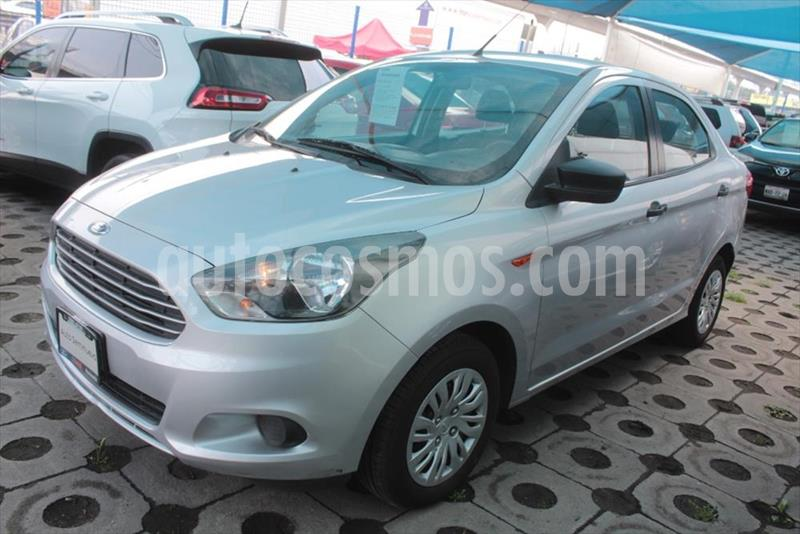 Ford Figo Sedan Impulse  usado (2017) color Plata precio $170,000