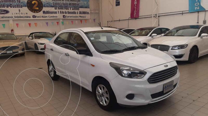 Ford Figo Sedan Energy usado (2017) color Blanco precio $128,000