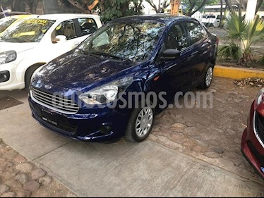 Ford Figo Sedan Impulse A/A usado (2016) color Azul Electrico precio $150,000