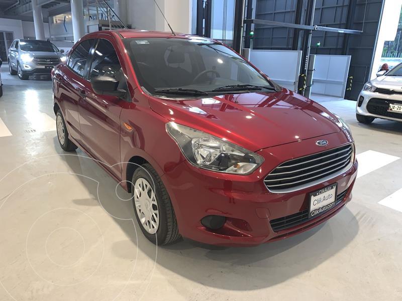 Foto Ford Figo Sedan Impulse  usado (2018) color Rojo precio $165,000