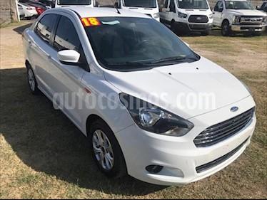 Ford Figo Sedan Titanium Aut usado (2018) color Blanco precio $195,000