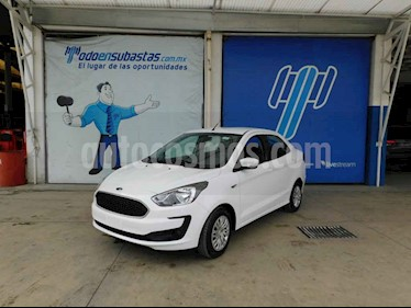 Ford Figo Sedan Impulse A/A usado (2019) color Blanco precio $113,000