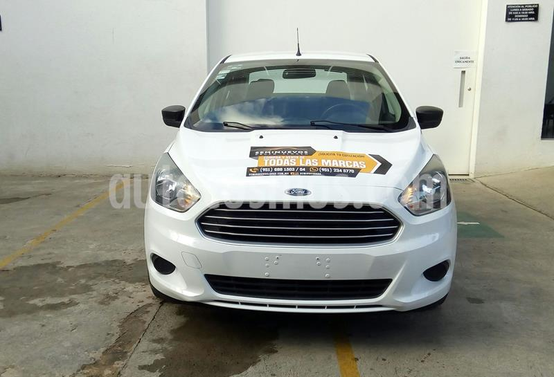 Ford Figo Sedan Impulse  usado (2018) color Blanco precio $175,000