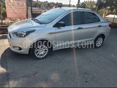 Ford Figo Sedan Impulse A/A usado (2017) color Plata precio $142,000