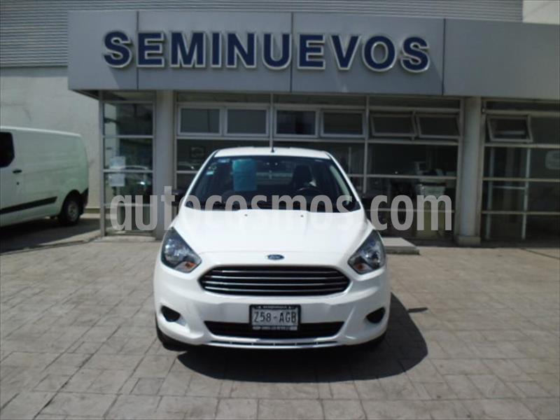 Ford Figo Sedan Impulse  usado (2016) color Blanco precio $120,000
